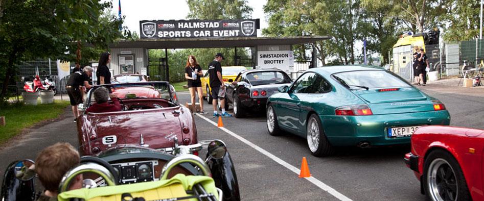 Halmstad Sports Car Event omslagsbild