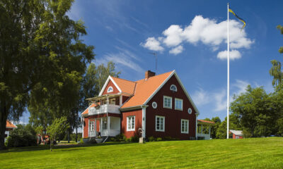 måla hus